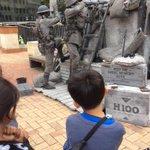 Gallipoli re-enactment #Wellington http://t.co/g8P6aRGu4H