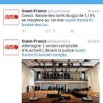 Salut @OuestFrance  ... vous êtes les princes de la vanne http://t.co/1Il3biOeIl