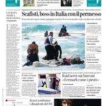 Buongiorno, la #primapagina di @corriereit http://t.co/LSMAwez85S http://t.co/ilxutjQGcm