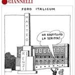 La vignetta di #Giannelli http://t.co/LSMAwehwHi http://t.co/92CB1oFyVI