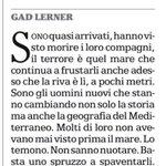 Strage migranti. Il racconto di Gad Lerner http://t.co/KwZgMAhqxN