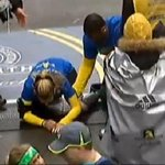 Watch: The marathons top moment. Congrats to Rebekah for completing a remarkable journey http://t.co/i9RfwiQWEK http://t.co/d4sFbuug7D