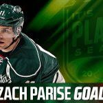 EASY PARISE! #mnwild up 2-0! 3:47 left in second. http://t.co/91b8YkUJ4q