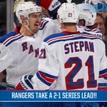 #NYR WIN GAME 3!!! Lead the series 2-1! http://t.co/HdXGxySZiW