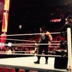 . @WWERomanReigns on #Raw in #WWEALBANY #WWE http://t.co/xPJ4Cgd6Rs