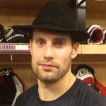 Dan Girardi wears the #NYR Broadway Hat tonight! http://t.co/WV6rsgwHfO
