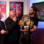 .@WWERollins and @WWEJJSecurity laughing at @KaneWWEs loss. Hopefully Kane doesnt see this pic. #RAW  #TheAuthority http://t.co/xD39NNlu11