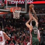 VIDEO: Jimmy Butler picks up 3 the hard way on a big and-1 dunk with both hands! #NBAPlayoffs http://t.co/a7lwZHqLbx http://t.co/Gx38gDMdeh