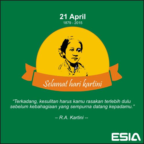 T'kadang, kesulitan harus kamu rasakan t'lebih dulu sblm kbhagiaan yg sempurna dtng kpdmu - R. A Kartini #KartiniDay http://t.co/cr2X7RVHlO