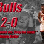 Jimmy Butler sets new career high in playoffs with 31 Pts. Bulls beat Bucks, 91-82, to take 2-0 series lead. http://t.co/GoS5DjG6et