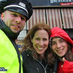 """To all of the #BPD officers working today's @bostonmarathon – we say: """"Thank you!!!"""" http://t.co/Cp99nej90F"""