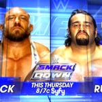 THIS THURSDAY: @Ryback22 battles @RusevBUL on @WWE #SmackDown on @Syfy! @LanaWWE http://t.co/C5kDN9s2Va