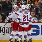 VIDEO: Worth another look as #NYR @ChrisKreider scores the game-winner tonight: http://t.co/9YzMB8yCpi http://t.co/zl6QPen6Gl