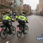 """To all the #BPD officers working today's @bostonmarathon – we say: """"Thanks for keeping us safe!!!"""" http://t.co/7Knp3IXYv6"""