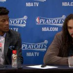 """Jimmy Butler is looking at Joakim Noah like, """"You know nothing, Jon Snow."""" http://t.co/Zti6mv7mLA"""
