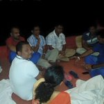 First time in Sri Lanka Parliamentary history, MPs launched a Hunger Strike. Sleepless Night ! #LKA #SriLanka http://t.co/tYH0srPUKv