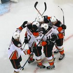 Rickard Rakell gets the game-winning goal in OT! Ducks sneak by Jets, 5-4, to take commanding 3-0 series lead. http://t.co/PZbPXKvLcu