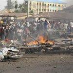 """""""@LeadershipNGA: Bomb Blast Rocks Mosque In Potiskum, Injures 3 - http://t.co/FTb1JA51pc http://t.co/g32vYNGDFO"""""""