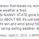 Some gold commentary on the @SMH #sydneystorm live blog: http://t.co/cabgX75qSI