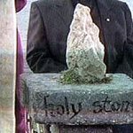 The Holy Stone of Clonrichert, a Class II Relic..its 20 years today since the first Farther Ted aired :) #FatherTed http://t.co/sVEkXrHP8L