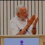 """You guys must have read a lot. You must manage time well. But do you ever spend """"quality time""""?: PM Modi http://t.co/XL40Xb5nnp"""