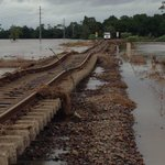 The Hunter train line remains closed due to weather conditions. Pic via @TrainLinkNorth. #NSWWeather #9News http://t.co/UA0LM7WpWn