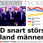 SD snart ikapp S och M bland manliga väljare http://t.co/YKV6e4HCTU #svpol #Sverigedemokraterna http://t.co/1eHxXI9TC7