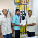 GDh.Gahdhoo Dhaairage Petition form thah MDP Secretariat aa havaalukohfi #FreePresidentNasheed http://t.co/3bqD1U0CQl