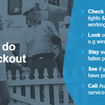 What to do in a blackout, via @Ausgrid. #NSWWeather #9News http://t.co/bWAJuMIbqr