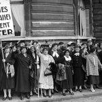 21 avril 1944 : le droit de vote et déligibilité est accordé aux Françaises, près dun siècle après les hommes. http://t.co/Z3BXYRz8m8