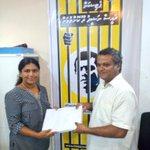 """""""@Olhukolhu_Media: Lh.Hinnvaru Dhaairage Petition form thah MDP Secretariat aa havaalukohfi #FreePresidentNasheed http://t.co/uU70cSOnFt"""""""