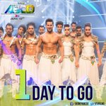 1 day to go. #ABCD2Traileron22NDApril #Remo @Varun_dvn @Dthevirus0011 @LaurenGottlieb @punitjpathak #Sushant http://t.co/AEXUtaZ75m
