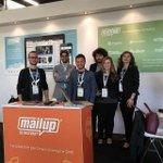 Il team di MailUp è pronto ad accogliervi! Vi aspettiamo numerosi :) #eCommerceForum http://t.co/1SRGyi3RE8
