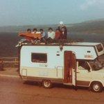Dato che google ha dedicato oggi il suo motore al mostro di Loch Ness sparo pic di 31Y fa da quel luogo cn 5 amici http://t.co/yA2D3rerv9