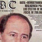Rato, en 1996: «El fraude perjudica a los que nos esforzamos en contribuir según la ley» http://t.co/1CFY5JGqui http://t.co/UNEPjkII59 …