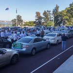 Perth taxi rally caption competition... Go! #perthnews @thewest_com_au http://t.co/JY9M23kXxO