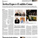 Arriva #Expo2015 e cè subito il #LakeComo @laprovinciadico @MarilenaLualdi @ComuneComo @SalvatoreAmura #expottimisti http://t.co/eApyPjVbp9