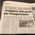 È partito il countdown #Expo2015 #expottimisti meno 10 e Padiglioni pronti !! http://t.co/z4p9rhqm0a