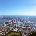 Amazing day for a fly in the @7NewsPerth helicopter ???? #Perth #perthweather http://t.co/QaRHKGcfP0