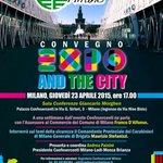 Giovedí #Expo2015 @Confesercenti @ComuneMI EXPO AND THE CITY #sicurezza ed eventi in città. Vi aspettiamo! http://t.co/QwuYCPzKQn