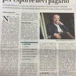 Per esporre all#Expo devi pagare #Farinetti. Ormai #Expo2015 è solo la sagra dei ladroni del #PD renzista. http://t.co/5O2a61N2u7