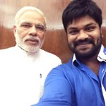 Selfie With real super star @narendramodi ????❤️ http://t.co/YNxcoRCCha