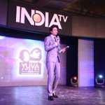 Proud moment for us as our Co-founder, Rahul Sharma has been felicitated as a youth icon at @indiatvnews Yuva Awards http://t.co/9lLQK8wGD6