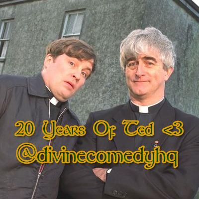 On this day in 1995 a new comedy started on Channel4 called #FatherTed The theme tune was Songs Of Love We <3 Ya Ted! http://t.co/b3vqpHyNKx