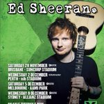 .@edsheeran has a message for his Aussie fans about his just announced tour on the show at 7:10PM http://t.co/IqSstqsauv