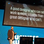 You were told that good design will sell itself, you were lied to @monteiro at #fbtb2015 http://t.co/yoZA6oYCAv