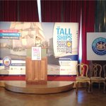 @tallships2015 http://t.co/p3UaEW8xGo The official launch of #tallshipsbelfast kicks off at Belfast Harbour Commissioners Office