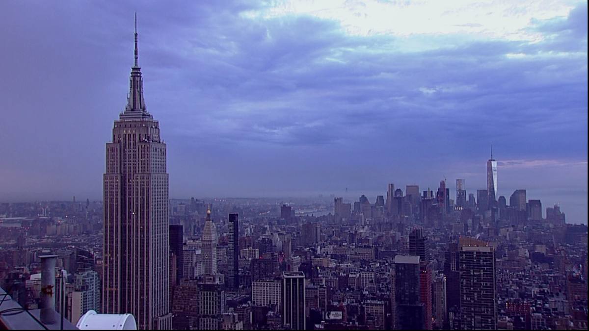 Good Morning NYC! Rain is almost gone! http://t.co/ToAMpbxen3