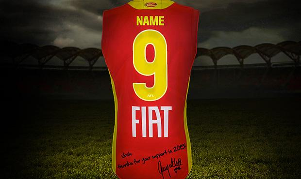 Want a personalised Gary Ablett digital guernsey image? Retweet this to receive one! #GazSigns http://t.co/x4geqhbPv0