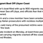 Captain Of Capsized Migrant Boat Charged With Reckless Multiple Homicide http://t.co/eOrTQCLYTn http://t.co/kCmaqoNEnL